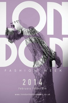 London Fashion Week Poster on Inspirationde