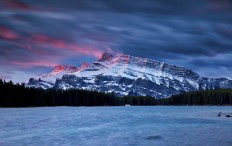 All sizes | Mount Rundle Sunrise 2017 | Flickr - Photo Sharing!