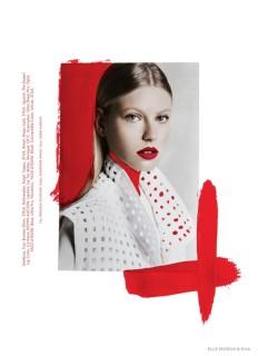 Artsy Fashion: Lisette + Natalie for Elle Mexico by Elliot & Erick on Inspirationde