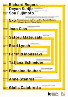 Get Lectured: IE School of Architecture and Design, 2017-18 on Inspirationde
