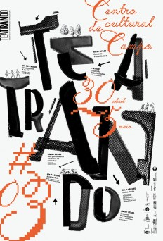 3rd Edition of Teatrando by atelier d'alves on Inspirationde