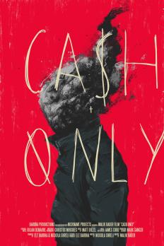 Cash Only Poster Design on Inspirationde