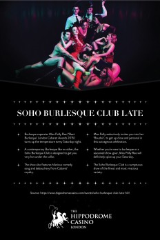 Hippodrome Casino — SOHO BURLESQUE CLUB LATE