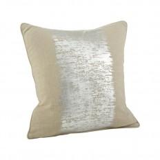 Degnan Metallic Banded Cotton Throw Pillow & Reviews | AllModern