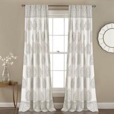 Brocka Nature/Floral Room Darkening Rod Pocket Curtain Panels & Reviews | Joss & Main