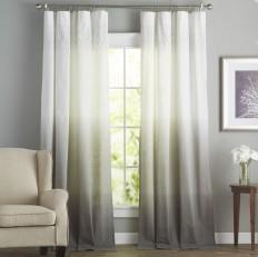 Arashi Solid Room Darkening Rod Pocket Single Curtain Panel & Reviews | AllModern