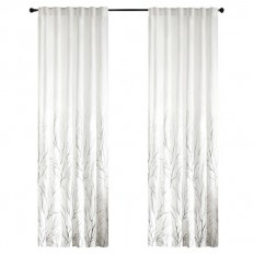 Bittle Nature/Floral Room Darkening Rod Pocket Single Curtain Panel & Reviews | AllModern