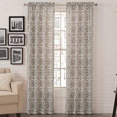 Livio Damask Room Darkening Rod Pocket Curtain Panels & Reviews | AllModern