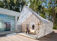 UCLA research lab unveils tiny house to combat housing crisis