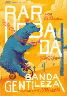 B A R B A D A. Banda Gentileza by Arthur Duarte on Inspirationde