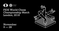 Brand New: New Logo and Identity for 2018 World Chess Championship by Shuka Design