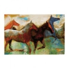 Shadow Horse Canvas Art Print | Kirklands