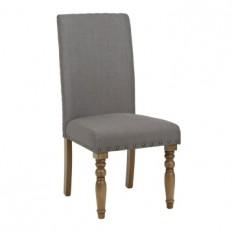 Gray Spool Leg Parsons Chair | Kirklands