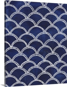 Indigo Pattern II Wall Art, Canvas Prints, Framed Prints, Wall Peels | Great Big Canvas