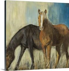 Horses II Wall Art, Canvas Prints, Framed Prints, Wall Peels | Great Big Canvas