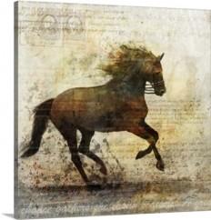 Horse Dance I Wall Art, Canvas Prints, Framed Prints, Wall Peels | Great Big Canvas