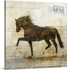Horse Dance II Wall Art, Canvas Prints, Framed Prints, Wall Peels | Great Big Canvas