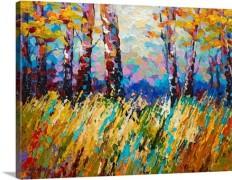 Abstract Autumn Wall Art, Canvas Prints, Framed Prints, Wall Peels | Great Big Canvas