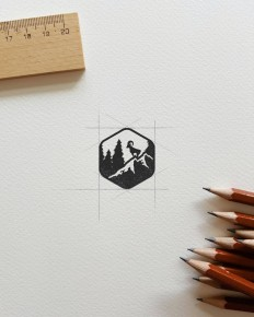 Logo for the Men's Journal by Deep Bear on Inspirationde