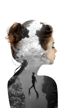 Double exposures by Nevessart on Inspirationde