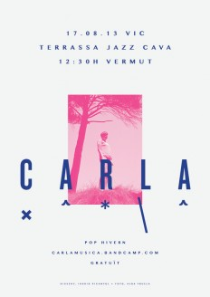 CARLA | Posters by Ingrid Picanyol on Inspirationde