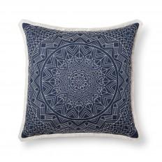 Blue Metallic Oversized Throw Pillow - Threshold? : Target