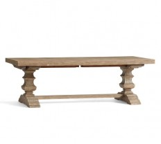 Banks Extending Dining Table, Grey Wash | Pottery Barn