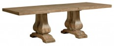 "Savannah Court Trestle Table With 18"" Leaf - Traditional - Dining Tables - by Standard Furniture Manufacturing Co"