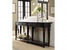 Hooker Furniture Living Room Six Drawer Thin Console 5121-85001