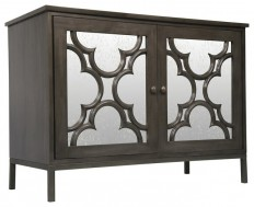 Bobby Global Bazaar Mirror 2 Door Sideboard Cabinet - Eclectic - Buffets And Sideboards - by Kathy Kuo Home