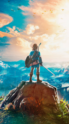 Zelda Breath of the Wild on Inspirationde
