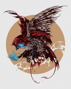 Feathers by Ivan Belikov on Inspirationde