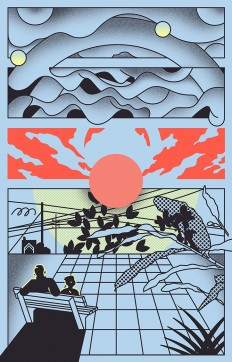 It's Nice That | Thomas Hedger's updated portfolio of hazy gradients and subtle narratives