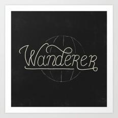 Wanderer Art Print by koning | Society6