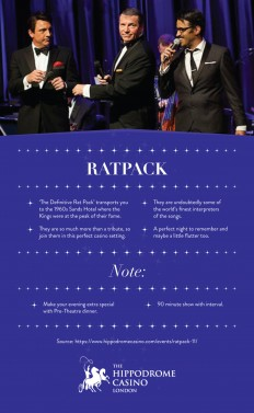 Hippodrome Casino — Ratpack - 17th March