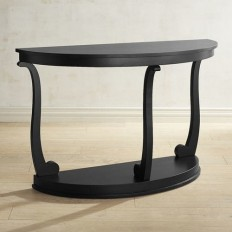 Jillian Rubbed Black DeLune Console Table | Pier 1 Imports