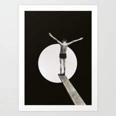 Risk (2015) Art Print by matthieubordel   Society6