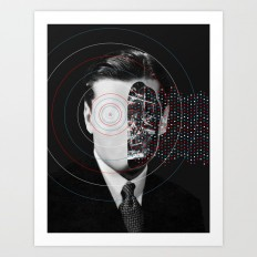 Artificial intelligence (2017) Art Print by matthieubordel | Society6