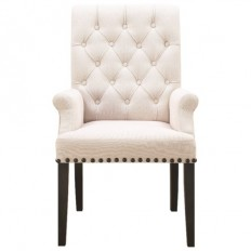Coaster Weber Upholstered Dining Arm Chair with Diamond Tufting - Coaster Fine Furniture