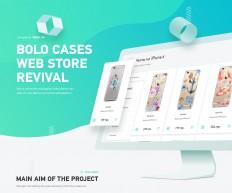 Bolo: Smartphone Cases Online Webstore Revival on