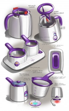 Digital Product Sketching on