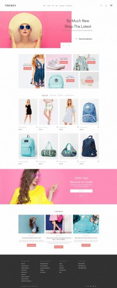 Trendy – Minimal Fashion Boutique on Inspirationde