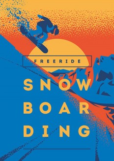 Snowboard Posters & T-Shirt print on Inspirationde