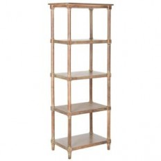 Safavieh Odessa Washed Natural Pine Open Bookcase-AMH5721B - The Home Depot