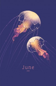 June – Lotus by Heather Penn on Inspirationde