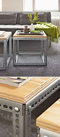 These industrial coffee tables are so great on Inspirationde