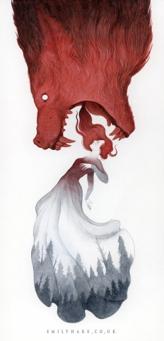 The Art of Emily Hare on Inspirationde
