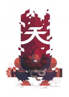 Street Fighter Fan Art by Phu Twenty on Inspirationde