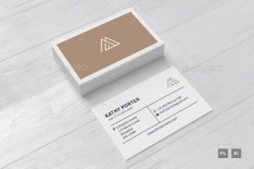AM Business Card Template by jusfanio | GraphicRiver