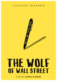 The Wolf of Wall Street by polardesigns on Inspirationde